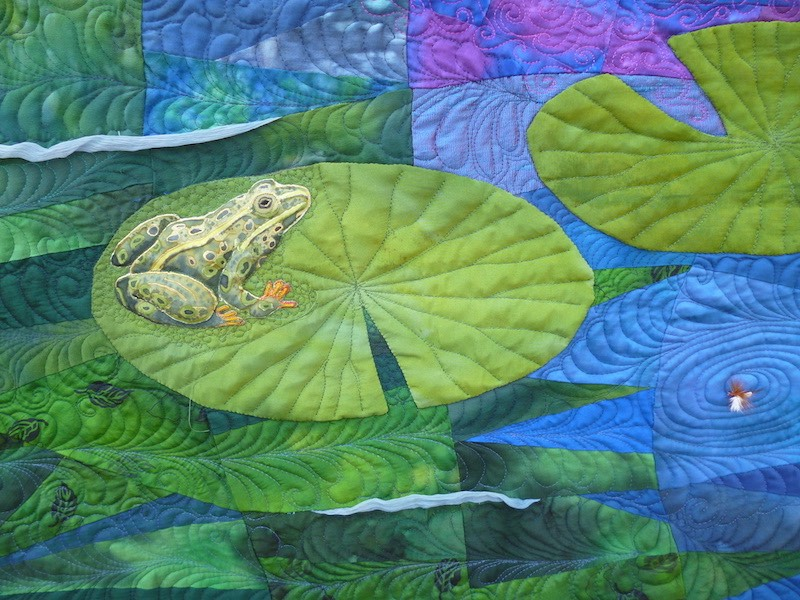 Lily Pond DETAIL