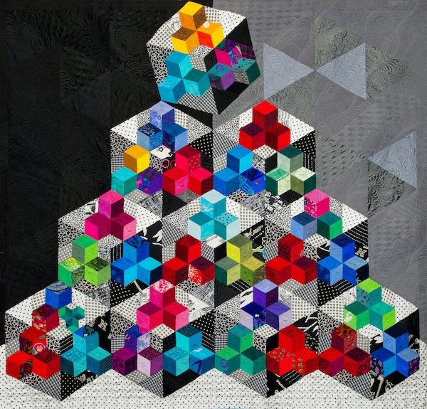 Tumbling Blocks by Geraldine Warner