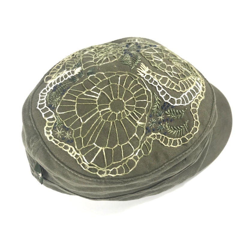 Embroidered Hat 1 by PM