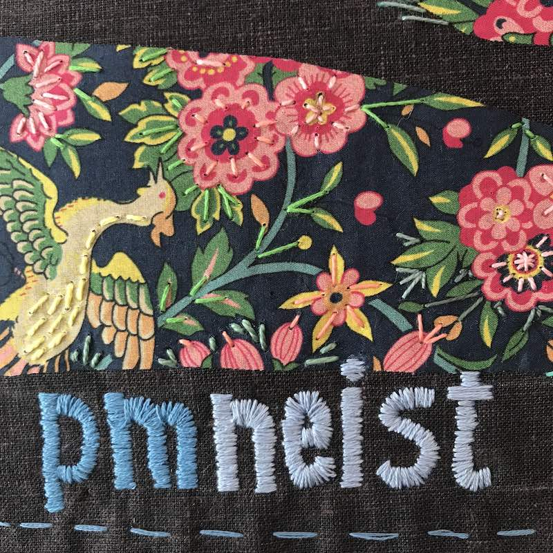 Embroidery by PM