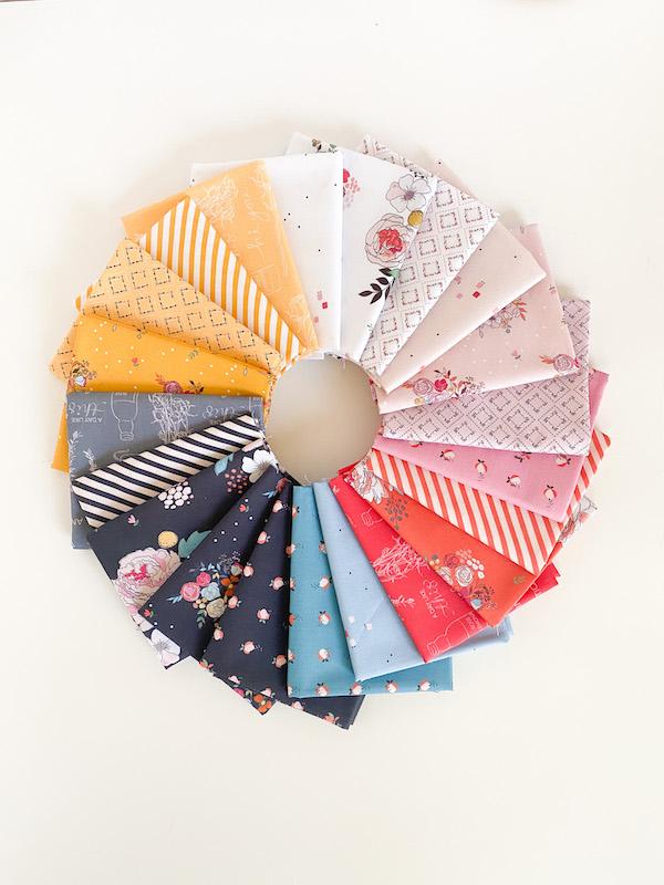 Fabric designed by Minki