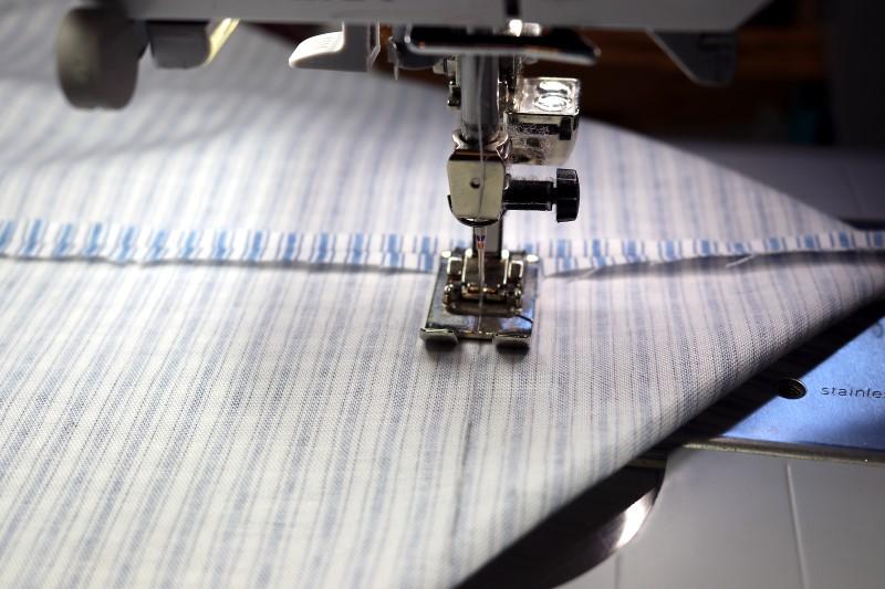 Stitch Lining Miter