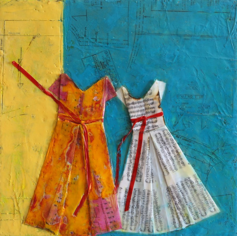 Muscial Dresses by Carol Retsch-Bogart
