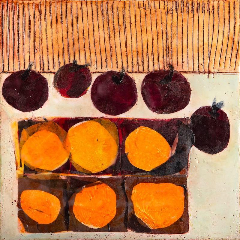 Plums & Oranges by Carol Retsch-Bogart