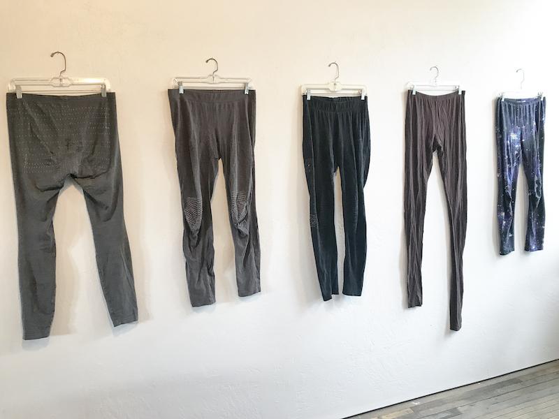 Mended Leggings by Heidi Parkes