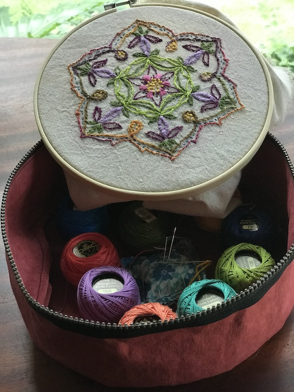 Hoop Art Project Organizer