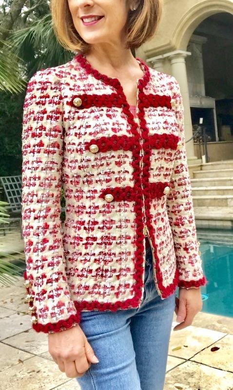 Channel jacket by Julie Starr