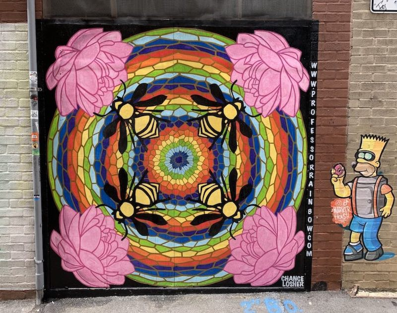 Mural in Knoxville by Chance Losher