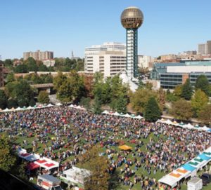 Worlds Fair Park in Knoxville