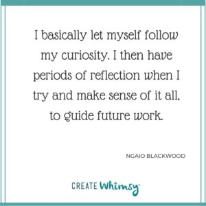 Ngaio Blackwood Quote