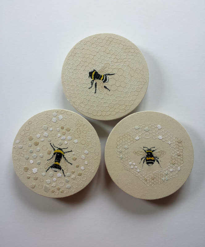 Trio of Bees by Ngaio Blackwood