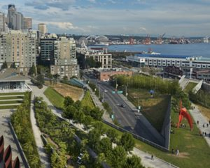 Olympic Sculpture Park in Seattle
