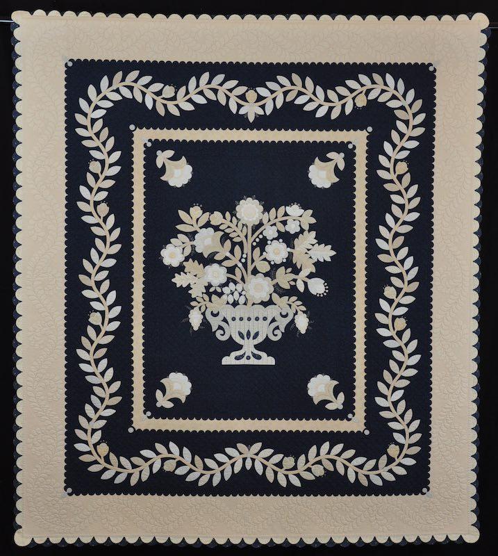 """""""Le Panier de Fleurs"""" made by Sue Nickels 2001"""