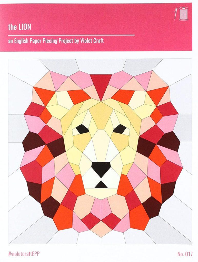 EPP Violet Craft Lion Pattern Pack