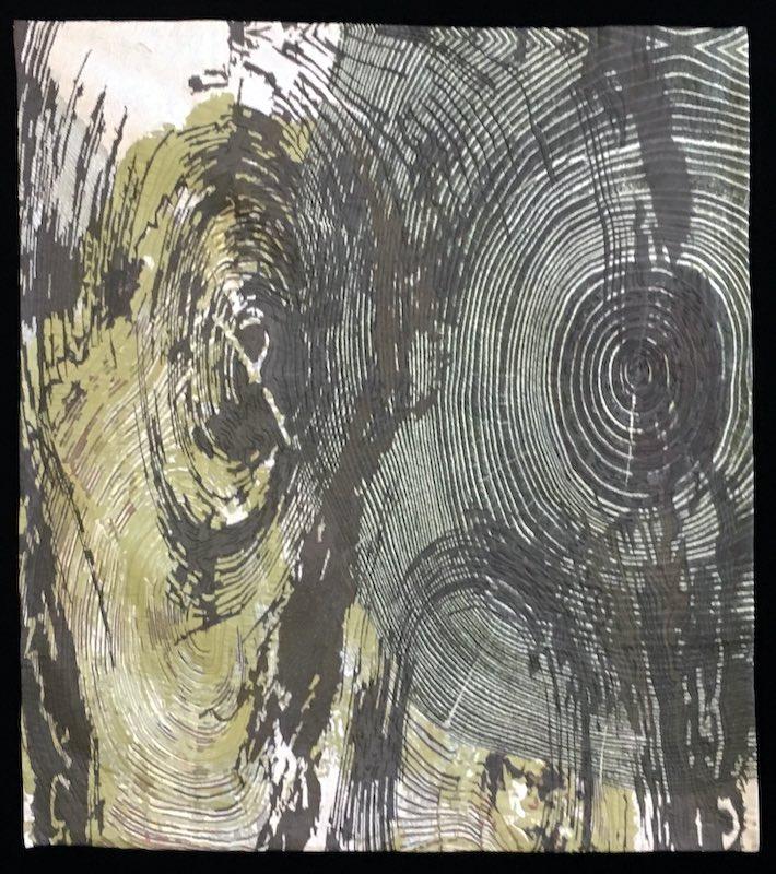 Line Dance Tree Ring Patterns, var. 22 by Barbara Schneider