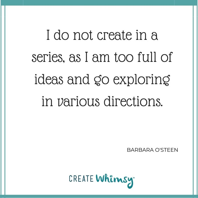 Barbara O'Steen Quote