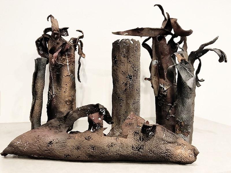 Burnt Forest DETAIL by Deborah Weir