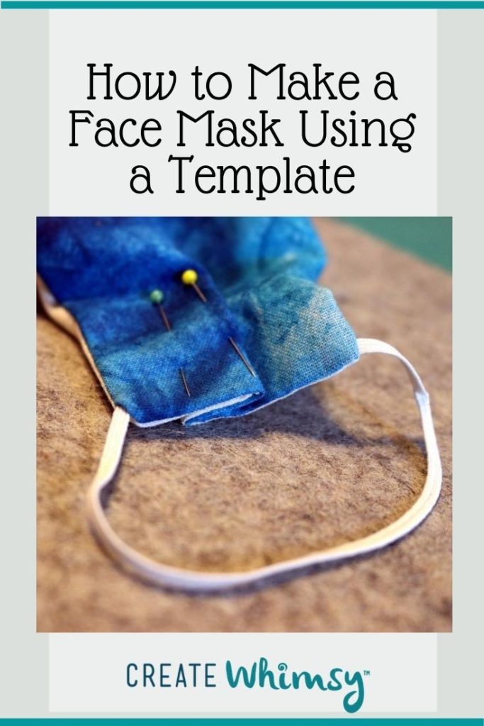 Face Mask Template Pin Image 2