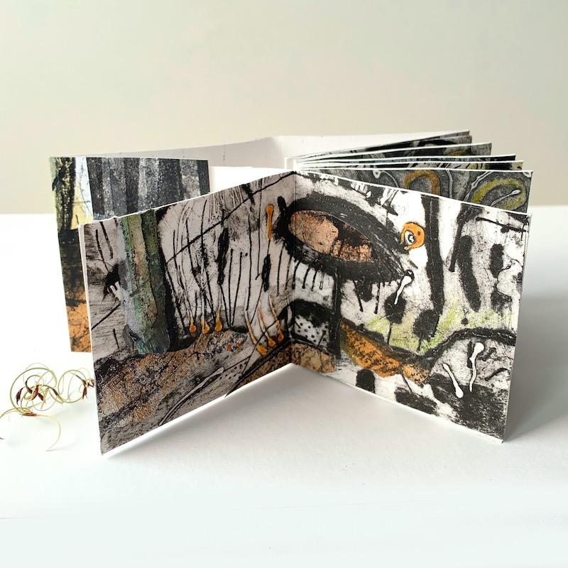 Mixed media book by Tara Axford