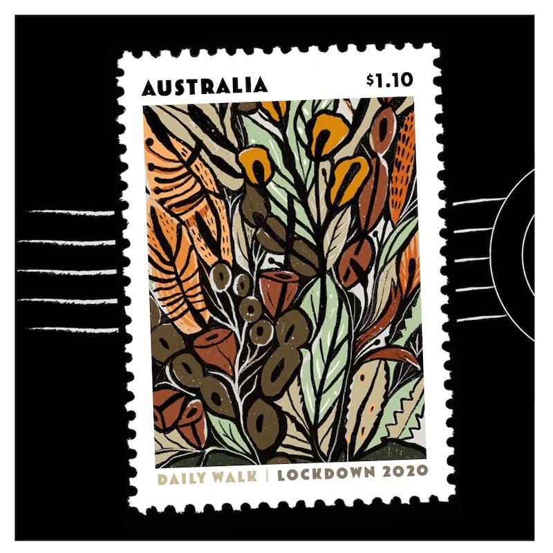 Stamp made by Tara Axford