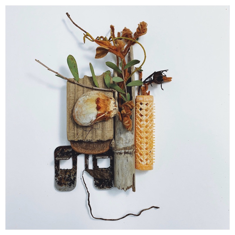 Found object art by Tara Axford