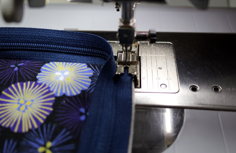 Turning Zipper Corner