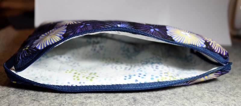 Finished Center Pouch