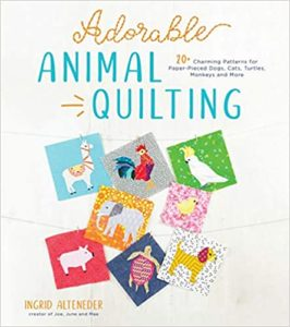 Adorable Animal Quilting Book Cover