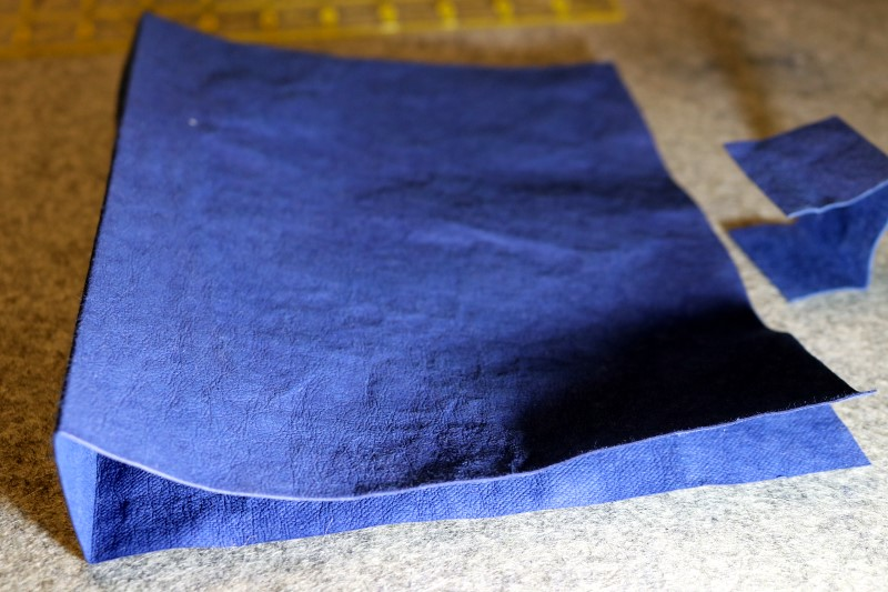 Fold Lines After Pressing