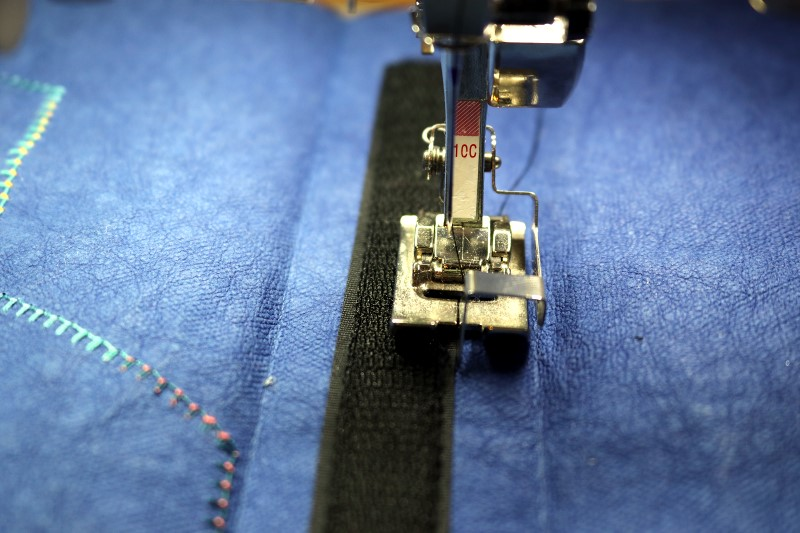 Stitch Hook Side of Velcro