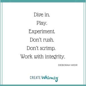 Deborah Weir Quote