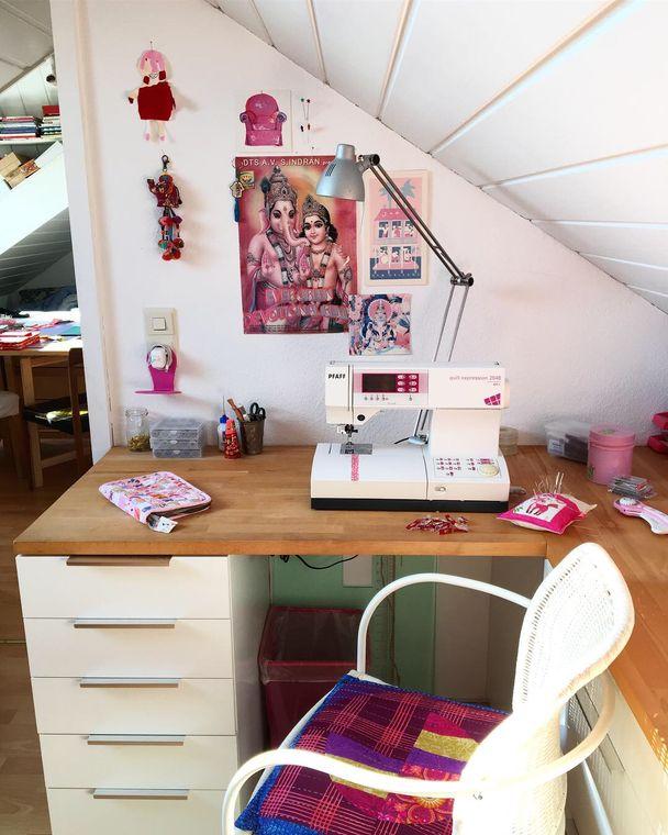 Ingrid's sewing machine