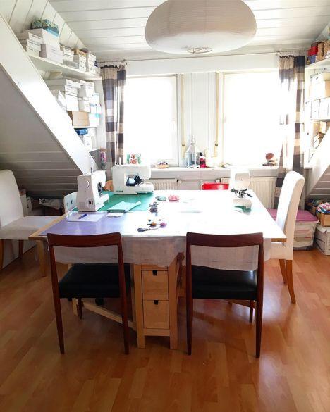 Ingrid's studio