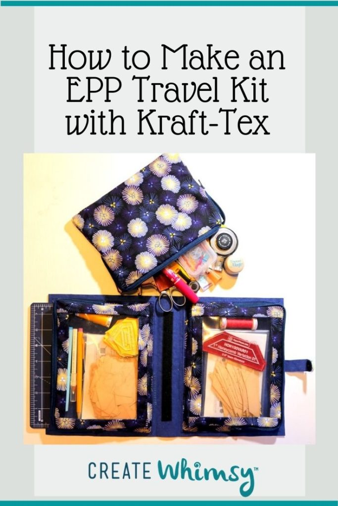 EPP Travel Kit with Kraft-Tex Pinterest Image 3