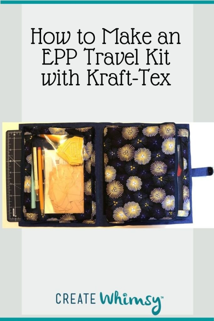 EPP Travel Kit with Kraft-Tex Pinterest Image 2