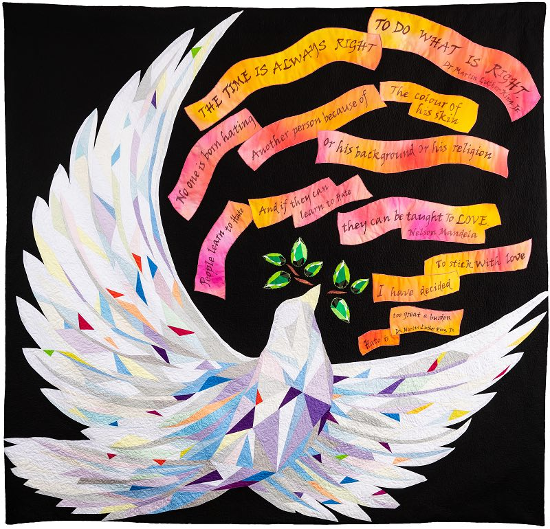 The Peace Quilt by MJ Kinman