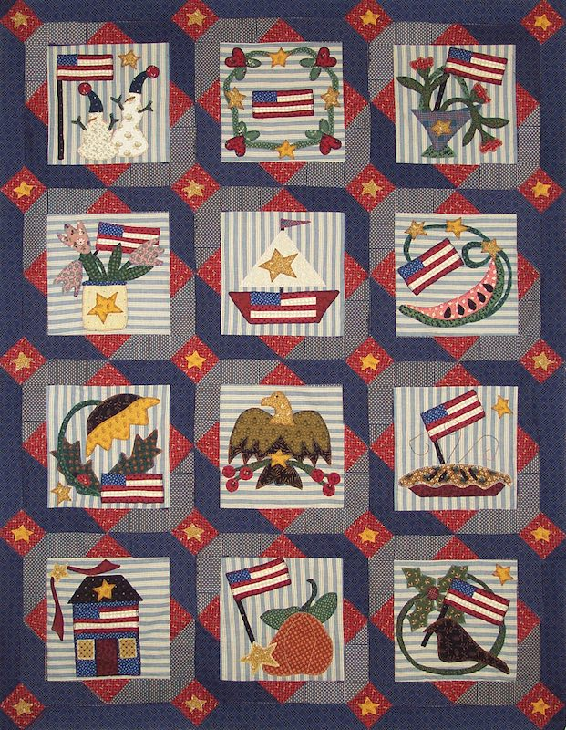 Americana Quilt by Pat Sloan