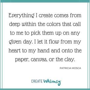 Patricia Mosca Quote