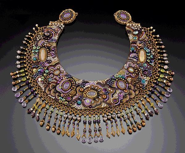 Beautiful beaded necklace by Sherry Serafini