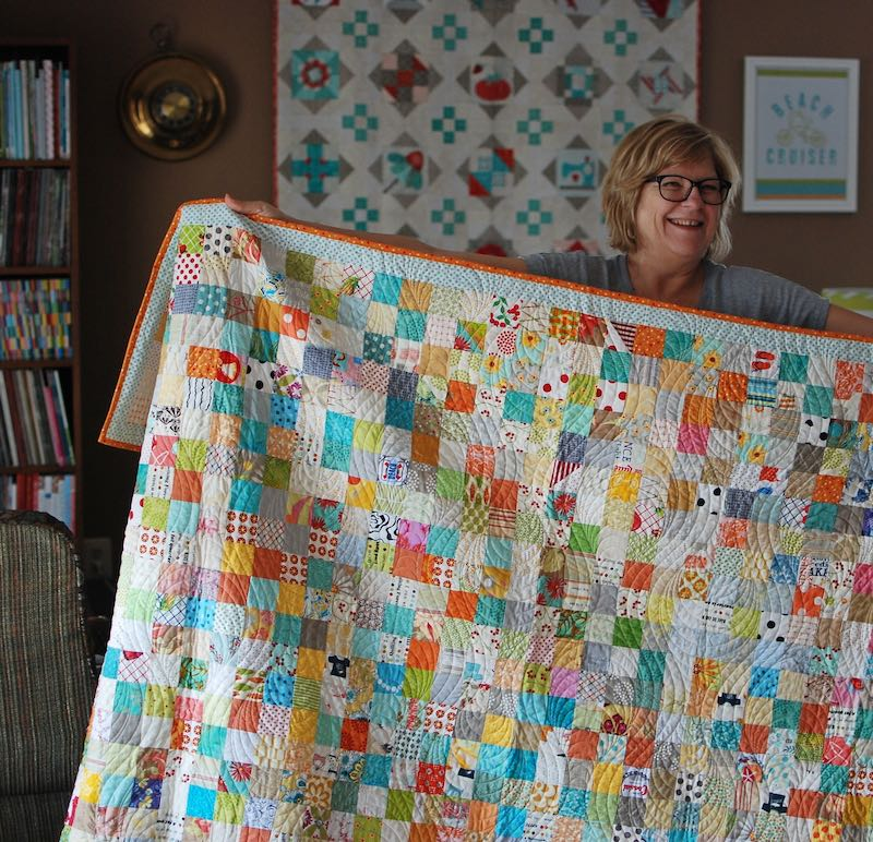 Two Inch Square quilt
