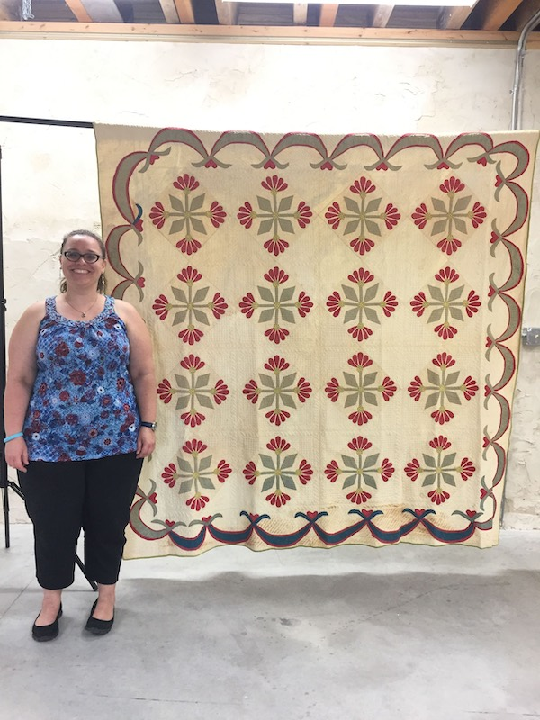 Melissa Wraalstad, executive director of the Wisconsin Museum of Quilts and Fiber Arts