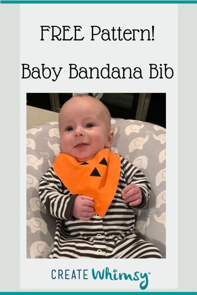 Baby bandana bib pinterest image 5