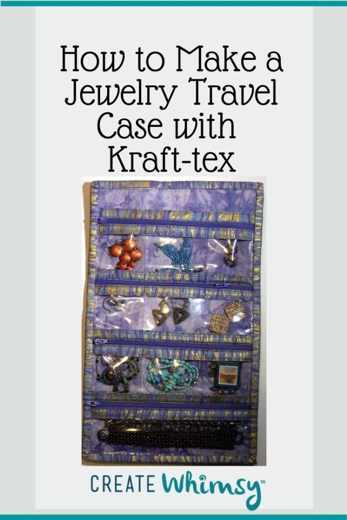 Jewelry Case from Kraft-tex Pinterest Image 2
