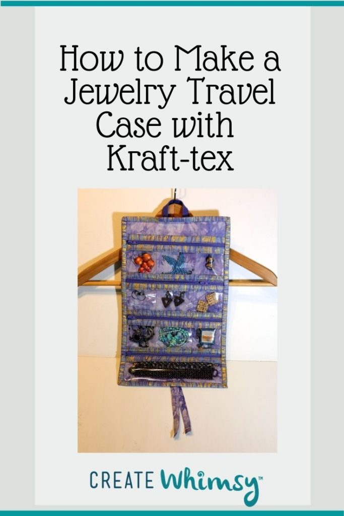 Jewelry Case from Kraft-tex Pinterest Image 3