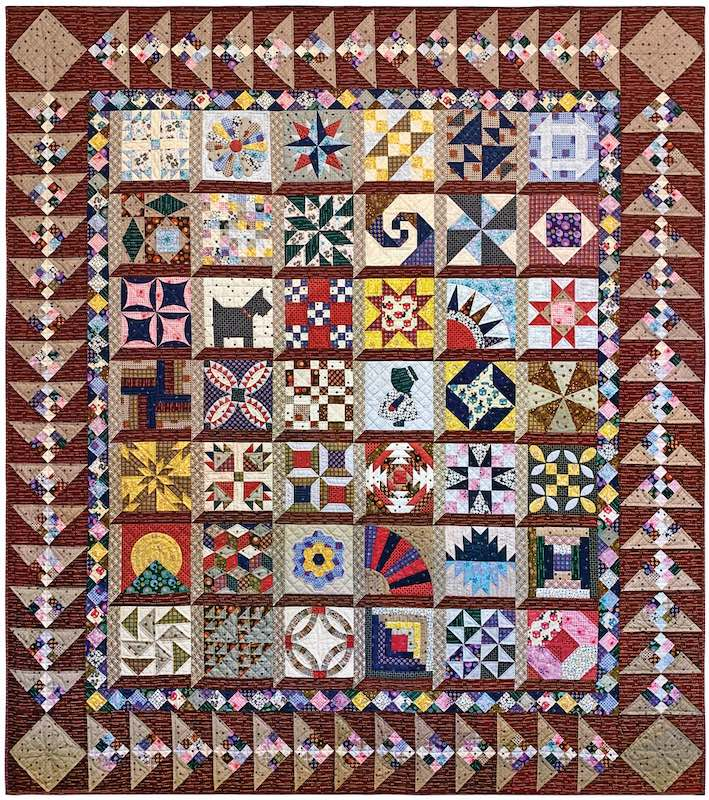 Spotlight: Ricky Tims, Musician and Contemporary Quiltmaker