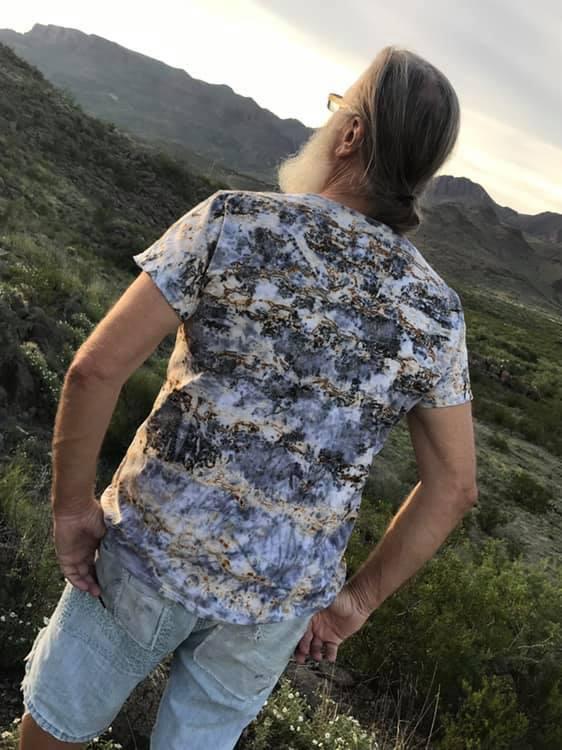 Eco dyed t-shirt