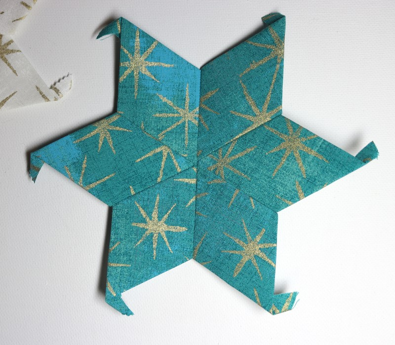 Right side of teal EPP star