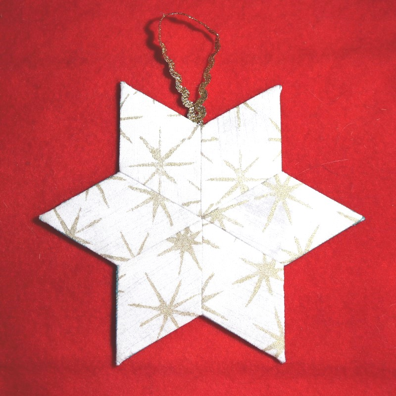 White EPP star on red