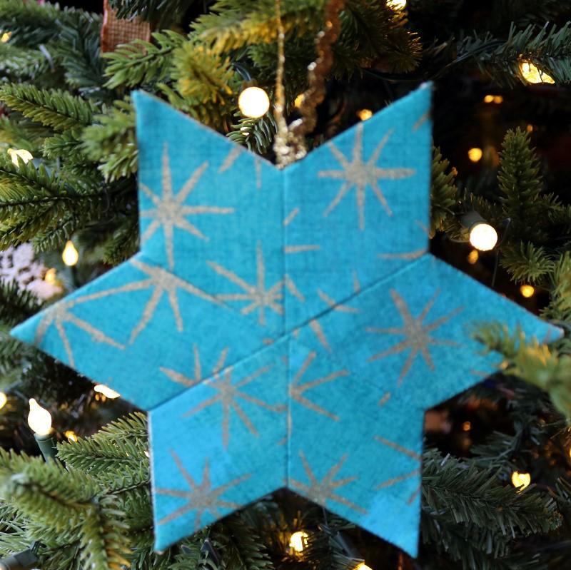 Teal EPP star on tree