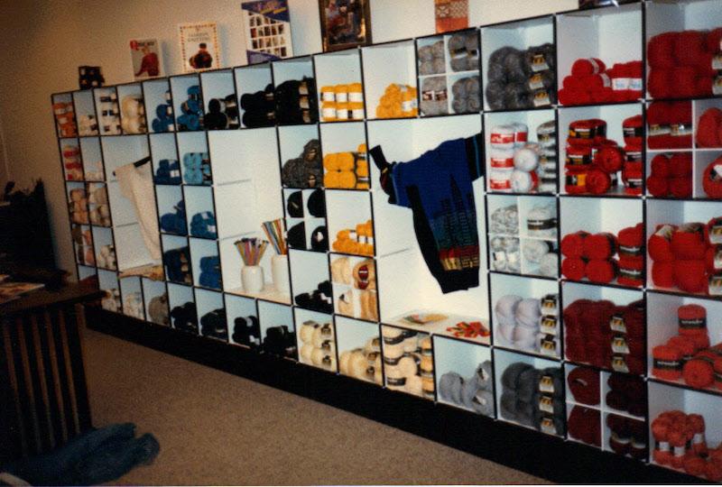 Cheryl Lambard YoMo Interior Color Block Merchandising
